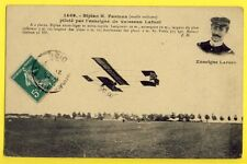 cpa AVION BIPLAN FARMAN Mod. Militaire Piloté par l'ENSEIGNE de VAISSEAU LAFONT