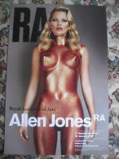 ALLEN JONES ( KATE MOSS ) - ROYAL ACADEMY ORIGINAL EXHIBITION POSTER