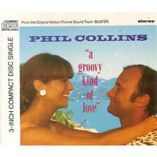 "MAXI CD Phil COLLINS A groovy kind ... ++ RARE 1988 ++ 3"" CD WITH ADAPTOR"