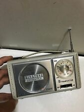 VINTAGE RADIO IN MODEL BINATONE CROSSWORLD BANDS  MW(-AM) - LW- 1960S