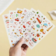 6 sheet molang rabbit ver.3 scrapbook planner filofax  calendar diary stickers
