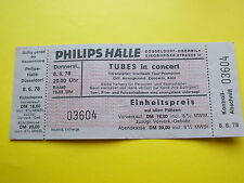 ^°^ Alte Eintrittskarte THE TUBES 1978 Düsseldorf Ticket