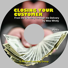 Auto Sales Training - Closing Your Customer from Greeting Through Delivery Audio