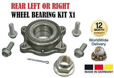 FOR INFINITI G 35 SALOON 02-ON REAR LEFT OR RIGHT WHEEL BEARING KIT X1