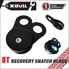 X-BULL Winch  Pulley Recovery Snatch Block 16000lb 8T Heavy Duty