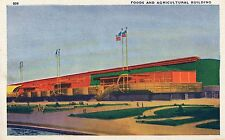 1933 Chicago World's Fair PC Foods and Agricultural Building..