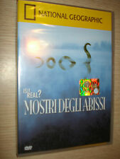 DVD N° 53 NATIONAL GEOGRAPHIC IS IT REAL? MOSTRI DEGLI ABISSI