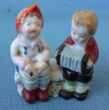Vintage Made in Occupied Japan - Porcelain Salt & Pepper Shakers