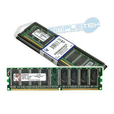 MEMORIA RAM 1GB KINGSTON DDR1 PC3200 400MHz CL3 NO ECC Regular RAM
