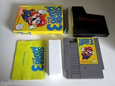 Super Mario Bros. 3 Nintendo  NES  complete. very worn but plays fine.