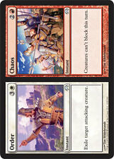 Order // Chaos X4 (Planechase 2009) MTG (NM) *CCGHouse* Magic