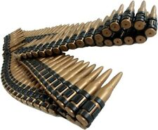 162cm Plastic Bullet Belt Ammo Rounds Army Soldier Rambo Fancy Dress Accessory