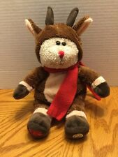 Starbucks Bearista Reindeer Rudolph 2003 28th Ed Christmas Bear Plush