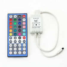 DUMVOIN Music 44 Key Wireless IR Remote 5 Pin RGBW LED Light Strip Controller
