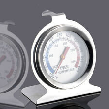New Stainless Steel Oven Cooker Thermometer Temperature Gauge Kitchen Food