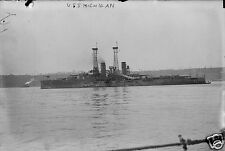 "US Navy USS Michigan World War 1 6x4"", Reprint Photo a"
