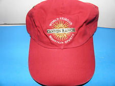 Canyon Ranch Arizona World Famous Mountain Sports Sun Logo Hat (NWT)
