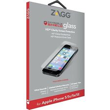 ZAGG InvisibleShield Glass Screen Protector Film for iPhone SE/5S/5 Clarity MP