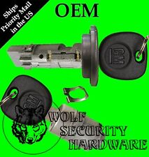Chevy GMC OEM Ignition Key Switch Lock Cylinder & Single Door Lock Set 2 GM Keys