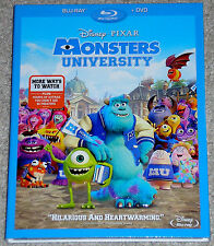 Disney Pixar Blu-ray + DVD Combo - Monsters University (New)