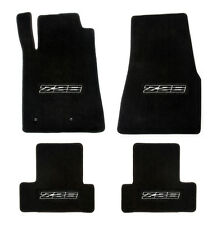 NEW! 1982-1992 Camaro Floor Mats Black Set of 4 Carpet Embroidered Z28 on ALL 4