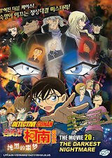 Anime DVD: Detective Conan The Movie 20: The Darkest Nightmare_Eng Sub_FREE SHIP