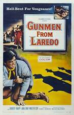 GUNMEN FROM LAREDO Movie POSTER 27x40 Robert Knapp Jana Davi Walter Coy Paul