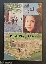VINTAGE BOOK / PUERTO RICO VISITORS GUIDE / 1978