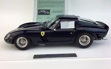 1:18 CMC Ferrari 250 GTO in Midnight Blue RARE LE of Just 100 Pieces!! M-168