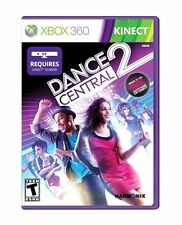 XBOX 360 DANCE CENTRAL 2 Game Bruno Mars Lady Gaga Requires Kinect Sensor