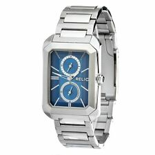 NIB RELIC by FOSSIL Brookfield Stainless Steel Multifunction Men's Watch