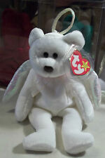 Ty Beanie Babies Original Halo The Angel Bear DOB August 31, 1998 MWMT in a Box