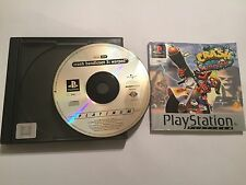 PS1 PLAYSTATION 1 PSone GAME CRASH BANDICOOT 3 III WARPED +BOX INSTRUCTIONS PAL