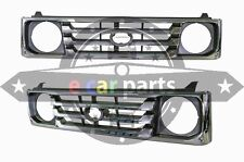 TOYOTA LANDCRUISER FJ78/FJ79 12/1999-3/2007 CHROME/GREY GRILL