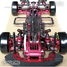 Carbon Aluminium Kit 1/10 4WD Drift Racing RC Car SAKURA D3 3R Front Motor