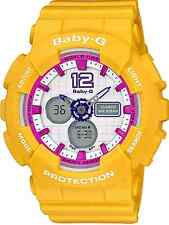 Casio Baby-GBA120-9 Sporty Fashion Ladies Analog Digital Yellow Resin COD PAYPAL