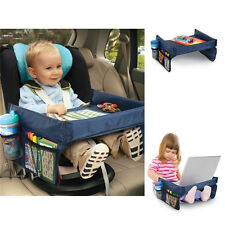 Portable Safety Kids Car Seat Travel Snack Tray Boby Playing Drawing Board Table