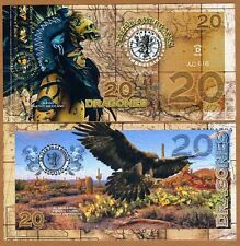 El Club De La Moneda 20 Dragones 2016 (2015) Polymer UNC  Maya, Eagle