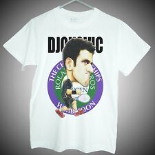 Novak Djokovic T-shirts tennis grand slam star graphic short sleeve fans gifts