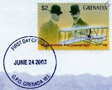 WRIGHT BROTHERS FLYER Aircraft Stamp FDC (100 Years of Powered Flight)