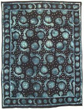 Sun & Moon Light Bedspread, Blue: Tapestry, Wall Hanging, Altar Cloth US SELLER