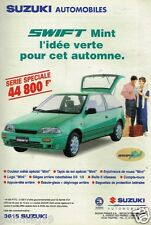 Publicité advertising 1994 Suzuki Swift Mint