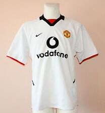 2002 - 2003 MANCHESTER UNITED, AWAY FOOTBALL JERSEY BY NIKE, MENS MEDIUM, 178