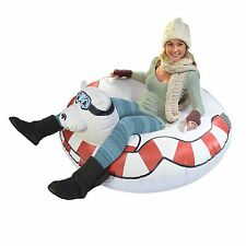 GoFloats Polar Bear Snow Tube - Ultimate Sled and Toboggan