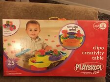 Playskool Clipo Creativity Table - Turntables Spin, Endless Creations!