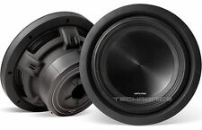 "PAIR ALPINE SWT-10S2 WITH 2YR WARNT 10"" CAR 1000W 2OHM SHALLOW MOUNT 2 SUBWOOFER"