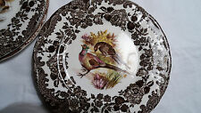 6 Teller Royal Worcester Palissy Game Series
