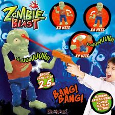 Zombie Blast Walking Zombie Electronic Infra-Red Target Shooting Game