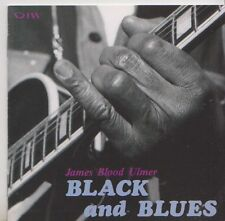 JAMES BLOOD ULMER  CD JAPON  BLACK AND BLUES