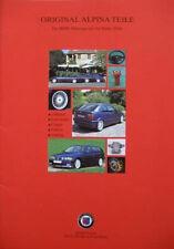 Prospekt original BMW ALPINA Teile 3er E36  06/96  incl. Preise CHF